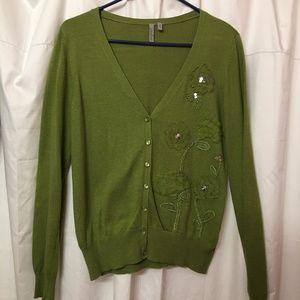 Women's Cardigan Sweater Size Medium